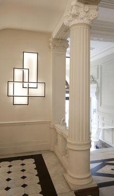 TRIO LT Lámpara de pared LED con luz indirecta by Cinier