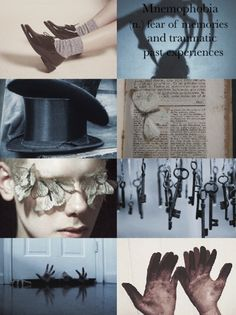 Horace Somnusson-Mnemophobia (n.) the fear of memories and traumatic past experiences-Miss Peregrines Home for Peculiar Children Aesthetic