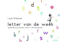 Met het boek Letter van de week kun je kinderen op speelse wijze in aanraking laten komen met letters. Kinderen onderzoeken de letters door middel van al hun zintuigen, wat het leren leuk en spannend maakt.
