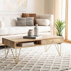 Hairpin Leg Coffee Table, Round Coffee Table Modern, Contemporary Coffee Table, Coffe Table, Hairpin Legs, Small Wood Coffee Table, Coffee Table Storage, Round Coffee Tables, Coffee Table Decor Living Room