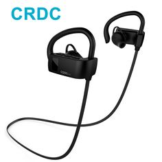 US $15.18 Bluetooth Earphone ,CRDC Sport Running Ear Hook Wireless Headphones Stereo Earbuds Bass Headset with Mic for Xiaomi Xiao iPhone-in Earphones & Headphones from Consumer Electronics on Aliexpress.com | Alibaba Group