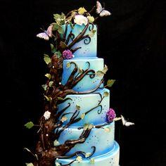 Enchanted cake! Love it!