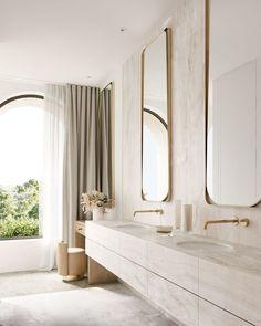 Design Living Room, Design Bedroom, Bedroom Decor, Bathroom Interior Design, Bathroom Designs, Bathroom Trends, Beautiful Bathrooms, Modern Luxury Bathroom, Minimal Bathroom