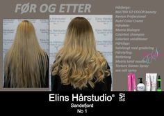 Lys blond halvlangt hår gradering krøllet med rettetang