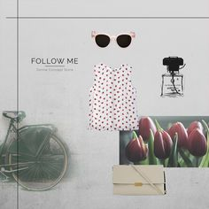 follow me through tulips and strawberries follow me through vanilla scent follow me in this new shopping experience