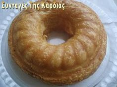 Ham and cheese pie Greek Cooking, Easy Cooking, Cooking Time, Cooking Recipes, Greek Desserts, Greek Recipes, Savory Muffins, Pastry Art, Salty Cake