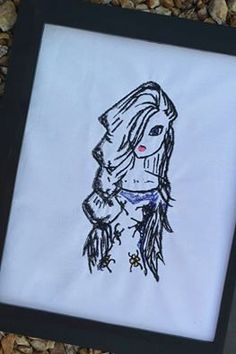 """Embroidery Digital File """"Ice Queen"""""""