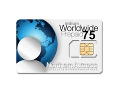 NorthernAxcess Satellite Communications - Iridium  Prepaid Global 75 Min Sim Card , $164.95 (http://www.northernaxcess.com/iridium-75-minute-global-prepaid-sim-card/)