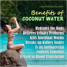 Do you know the Benefits of Coconut Water?