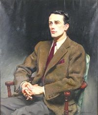 Sidney Edward Dickinson, Portrait of Miss Wright's son, 1940