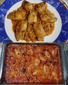 Greek Recipes, Fish Recipes, Pillsbury, Chicken Wings, Seafood, Pork, Kai, Meals, Vegan