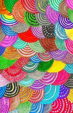 doodle art Nacimiento y Muerte espirales , in - art Auction Projects, Art Auction, Auction Ideas, Arte Elemental, Classe D'art, Collaborative Art Projects, Zentangle Patterns, Doodles Zentangles, Art Patterns
