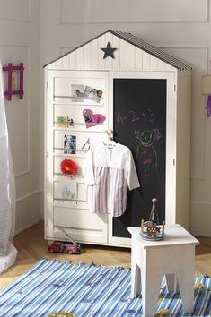 Good idea for Toys storage instead of a Wardrobe