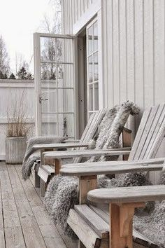 Here are some great ideas for outdoor decks and patios. From pergolas, to mahogany decking, these outdoor spaces are great for inspiration. Outdoor Rooms, Outdoor Living, Outdoor Decor, Outdoor Patios, Porches, Garden Furniture, Outdoor Furniture Sets, Interior And Exterior, Interior Design