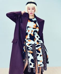Stephanie Lee by Zoo Young Gyun for Instyle Korea Sept 2015
