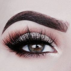 Perfect wedding makeup... would look fantastic for my friend's spring wedding!