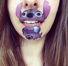 Cartoon makeup. Image 6 of 7 More on our website . Use mouse to click :