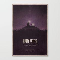 The Hald-Blood Prince Canvas Print by edwardjmoranii Half Blood, Draco, 50 Shades, Harry Potter, Prince, Geek Stuff, Canvas Prints, Purple, Movie Posters