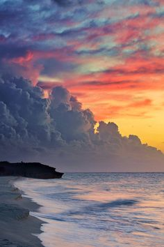 Sunset at Varadero Beach, Cuba
