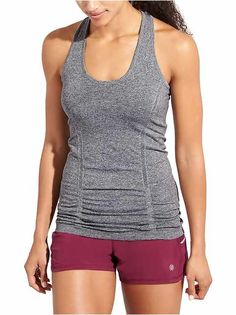 Activewear Frank Athleta Tank Top Size S/dark Purple/shelf Bra/halter Tie