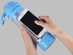 water bottle with phone holder| Buyerparty Inc.