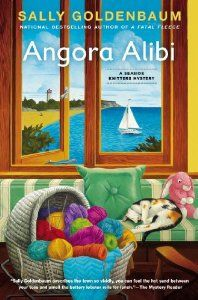 Angora Alibi is the 7th book in the Seaside Knitters Mystery Series by Sally Goldenbaum. Release Date: 5/7/13