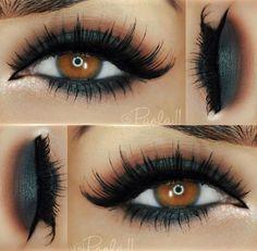 Dark Eyeshadow look