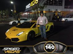 Supercar dreams are made possible at #SPEEDVEGAS