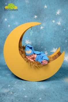 newborn moon prop