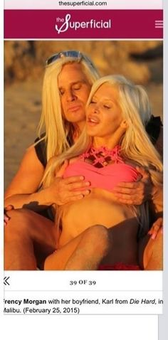 The Barbie Couple Daniel DiCriscio and Angelique Frenchy Morgan in Malibu featured on The Superficial.com