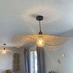 Deco Luminaire, Little Houses, Ikea, Sweet Home, Ceiling Lights, Lighting, Bedroom, Wood, Diy
