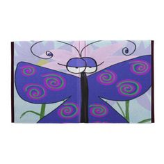 The Butterfly With An Attitude! IPad Case.  $55.95