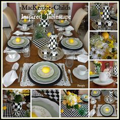 Panoply: MacKenzie-Childs Inspired Tablescape