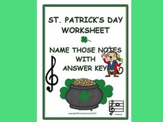 This is a Treble Staff Name That Note Worksheet using the Treble Staff with C Major Scale. Great for Assessing and Reinforcement of Note Naming. Can be used as a Timed Sheet and Practice Sheet. Answer Key is included, so great for Music Substitutes! Music Education Activities, Music Worksheets, Teacher Notebook, Music Notes, Good Music, Major Scale, Names, Music Class, How To Plan