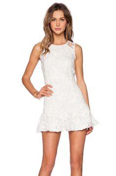 Size XS, S $143.00 Line & Dot Tina Dress in White