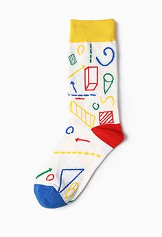 Geometry Patterns Socks