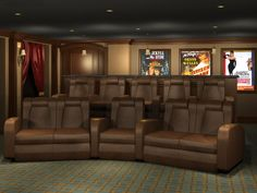 Home theater room decor