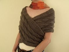 Decussate  Vest EXPRESS SHIPPINGReady For  by knittingshop on Etsy, $70.00