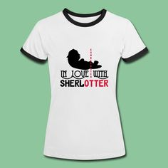 """Funny and sweet products for all fans of """"Sherlock"""", Benedict Cumberbatch and """"SherlOtter"""". #sherlotter #sherlock #benedictcumberbatch #crime #series #tv #fan #support #fan shirts #sherlock shirts #benedictcumberbatch shirts #merchandise #tees #t-shirt #gifts"""