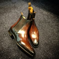 Chelsea Boots Burnished patina