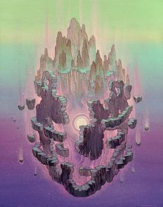 Little Floating Fantasy Worlds – Fubiz Media