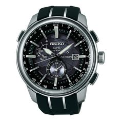 This Seiko watch is as bold and adventurous as you are and just as style conscious. It's date display makes it the ultimate watch to possess. Hands: Luminescent Caseback Type: Snap-down Age: Adult Str