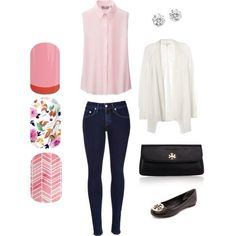 Jamberry spring outfit! Sorbet wrap Punch Bowl wrap and Sunday Brunch wrap