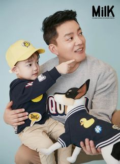 KBS variety 'Superman is Back's newest family has taken on a family pictorial!Father Lee B…