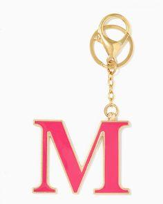 charming charlie   Initial M Keychain   UPC: 400000178509 #charmingcharlie