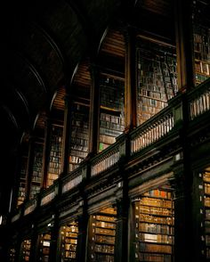 """BRITTANY MAHOOD (@brittanymahood) on Instagram: """"The Old Library at Trinity College in Dublin. (Where Harry and Hermione studied in the films).…"""""""
