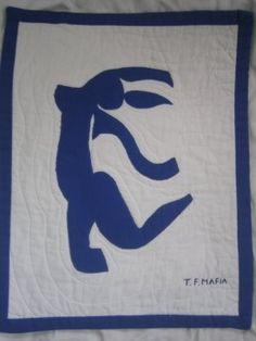 FemiKnit Mafia: June 2006 Matisse, Mafia, Superhero Logos, June, Quilts, Inspired, Character, Inspiration, Art