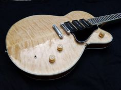 Welcome to Rusch Custom Guitars November 2018 - Custom Carved Cocobolo , gold hardware , Wald Buffer and FX loop. Customer Designed Custom - With On Board Effects Loop / David Allen pickups / Variable Gain Wald Buffer. Birdseye with Ash core / Ebony F Music Guitar, Guitar Chords, Melvin Seals, Guitar Chord Progressions, Jerry Garcia Band, Custom Guitars, Gold Hardware, Acoustic, Music Instruments