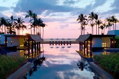 JW Marriott Khao Lak, Thailand Been here resort with a beach and like 5 swimming pools 5 minutes away from your rooms <3