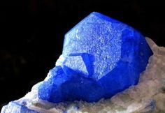 lapis lazuli - Stunning quality specimen, crave this in some gemstones!